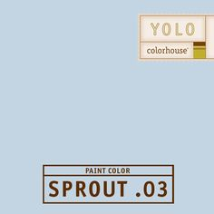 YOLO Colorhouse SPROUT .03:  hush...sweet dreams...zzzz. $35.95