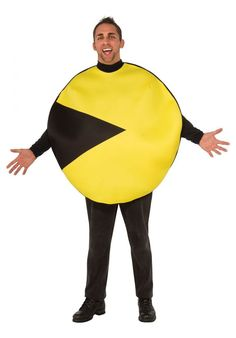 Pac-Man is not a hero this year - get your pixelized costume and let the fun begin! Pixels Movie Costumes for Arcade Game Lovers - Fancy Costume Madness Fancy Costumes, Adult Costumes, Halloween Costumes, Cartoon Costumes, Movie Costumes, Pac Man Costume, Costume Craze, Classic Video Games, Comic Con
