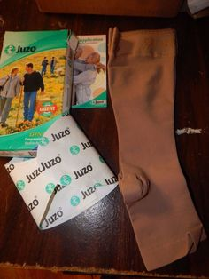 Juzo Compression Stockings Varin Soft Below Knee Short 5CM Silicone Border 30-40 #Juzo