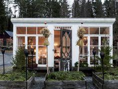backyard shed diy Outdoor Rooms, Outdoor Gardens, Outdoor Living, Outdoor Decor, Backyard Studio, Garden Studio, Backyard Office, Gazebo, Greenhouse Shed