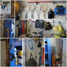 frazzled JOY: Tips and Tricks for Garage Organization