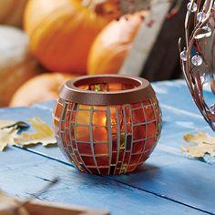 Teelichthalter Herbstlichter - Kuschelzeit