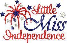 Little Miss Independent - DigiStitches Machine Embroidery Designs