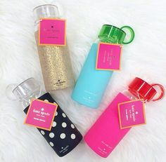 Kate Spade Water Bottles #heatprotected