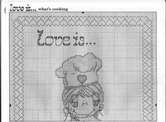 Love Is .... what's cooking #1