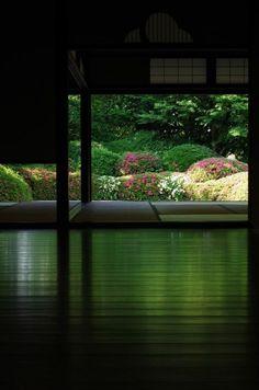 architecture japonaise pour chambre du thé