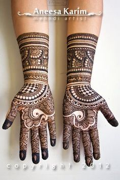 #henna #mehendi #hand #design #lovely #gorgeous