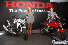 Aucasa Honda presentó las novedades del 2014. #Canarias #motos
