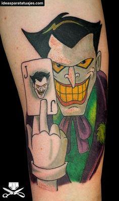 Eso no te lo despinta nadie Joker Tattoos d28e136f70a