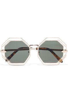 Karen Walker Woman D-frame Acetate And Silver-tone Sunglasses Silver Size Karen Walker cts0sV