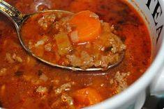 Saras delikatesser: Mustig köttfärssoppa