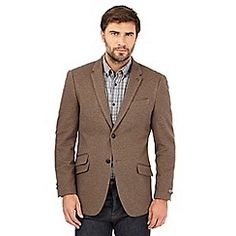 John Rocha from the Mens department at Debenhams. Shop a wide range of Men products and more at our online shop today. Civil Ceremony, Latest Updates, Debenhams, Single Breasted, Dan, Suit Jacket, Blazer, Brown, Jackets