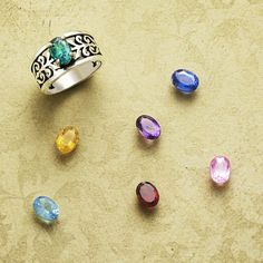 Adoree Ring with Gemstones from James Avery Jewelry #jamesavery