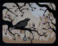 bird papercutting