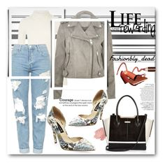 """Life rewarding"" by qroxp ❤ liked on Polyvore featuring Avenue, River Island, Topshop, Steve Madden, NARS Cosmetics, StreetStyle, BeautyTrend, outfit and fashionset"