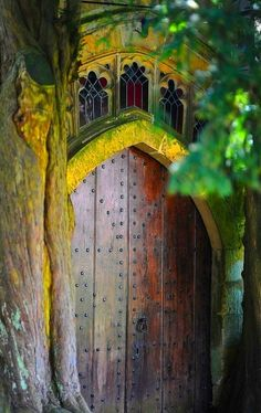 Surely magic awaits on the other side of this #door.