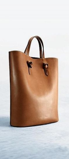 Celine BeStayClassy-  The handles are clever and would look good on a sewn bag