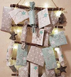 Make advent calendars – 10 creative craft ideas - Christmas Decorations Advent Calenders, Diy Advent Calendar, 25 Days Of Christmas, Christmas Presents, Creative Crafts, Diy And Crafts, Creative Ideas, Outdoor Christmas Decorations, Christmas Inspiration