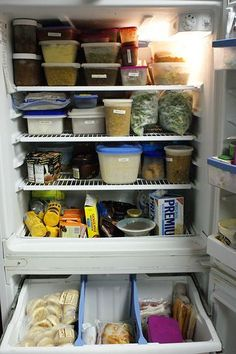 I want my freezer to look like that!