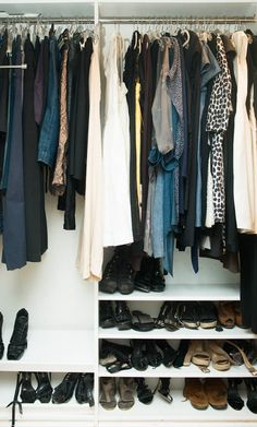 Simple and chic. #closets #simple #chic