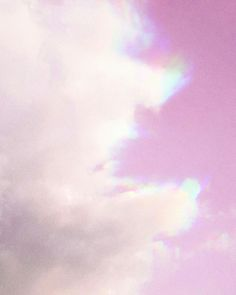#pink #rainbow #sky
