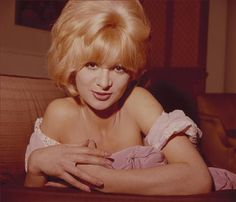 """Actress Claire Gordon (1941 - 2015) The bubbly blonde actress and comedienne appeared in a number of cult films such as the beatnik drama Beat Girl (1959), in which she was billed as """"Britain's answer to Brigitte Bardot,"""" and Konga (1961, aka I Was a Teenage Gorilla). She went on to earn a certain notoriety as the second wife of Willie Donaldson, better known under his nom de plume Henry Root, author of a collection of spoof letters to well-known figures."""