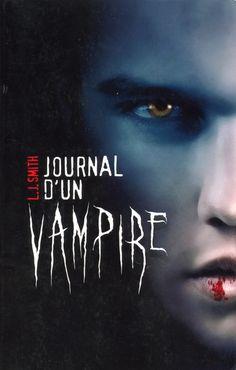 Journal d'un vampire, tome 1 - L.J. Smith - 464 pages - Résumé : Dès l'arrivée de Stefan à Fell's Church, Elena se jure de le séduire. D'abord distant, le garçon aux allures d'ange  finit par céder à sa passion dévorante... et lui révéler son terrible secret. Quelques siècles plus tôt, la femme qu'il aimait l'a transformé en vampire, avant de le trahir avec son frère. Et si Damon, vampire cruel et assoiffé de sang, était derrière tout cela ? #Livre #Vampire #Fantastique  #Sang #Saga