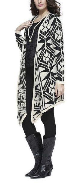 This is an example of an item I don't want to receive.  I actually bought this exact sweater on impulse, before realizing it's a Navajo blanket design (I thought it was a quilt pattern). Big oops on my part!!  I need to avoid clothing that appropriates Native American cultural property. I work in a field with a strong, vocal opposition to this practice, so I should have recognized it sooner!