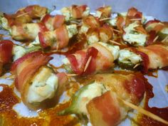 Menu Musings of a Modern American Mom: Bacon Wrapped Jalapeño Poppers