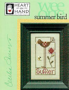 Summer Bird Cross Stitch