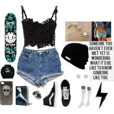 Looking like a Hot Skater with Punk Style :)