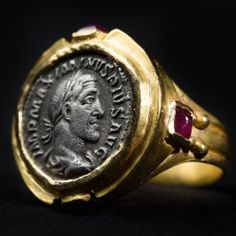 MAXIMINUS I THRAX COIN RING – ROMAN EMPIRE (235/238 AD