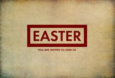 Free Download! Easter postcard to invite your friends to church on Easter Sunday. Click to download. ncbaptist.org