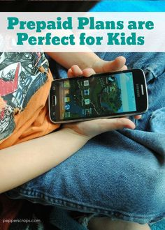 Prepaid Plans are Perfect for Kids | Pepper Scraps #changingprepaid #ad