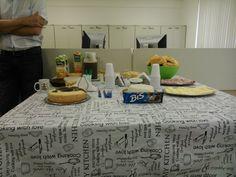Café da manhã de despedida (Abril 2014)