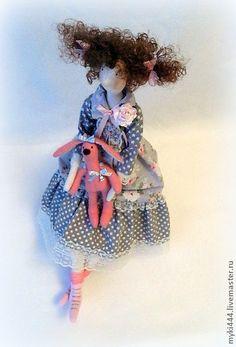 Куклы Тильды ручной работы. Ярмарка Мастеров - ручная работа Тильда Анечка. Handmade.
