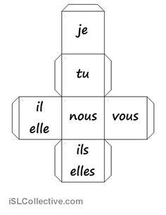 dés-pronoms personnels + verbes fiche d'exercices