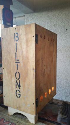 Biltong Biltong, Man Stuff, Lockers, Locker Storage, Boxes, Cabinet, Furniture, Home Decor, Blue Prints