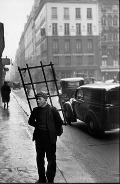 """undr: """"Henri Cartier-Bresson. France. Paris 1951 """""""