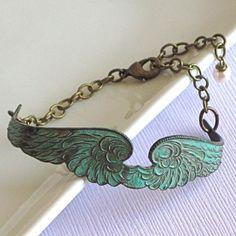 Angel Wing Cuff Bracelet