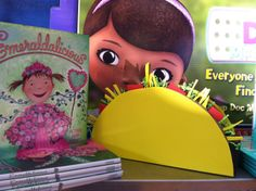 Book Fair Fiesta:  this taco display can be found in the Chairperson's Toolkit.