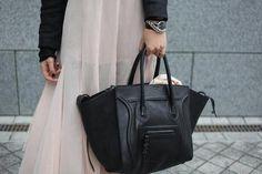 #black, #leather, #bag