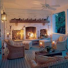 Love this back deck.