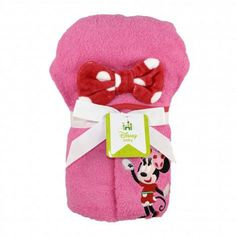 MINNIE MOUSE Deluxe Hooded Towel