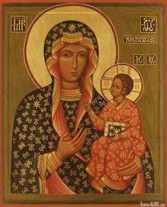 """Icon Mother of God     Икона Божией Матери """"Ченстоховская   index.php (787×974)"""