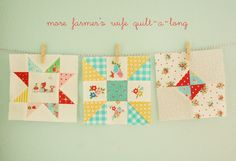 Farmer's Wife Quilt~a~long {Week 4,5,6} | More FW blocks for… | Flickr