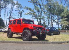 NICE Jeep!  #protecautocare #engineflush #carrepair #jeep #wrangler #suv #red…