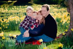 Family portraits in the beautiful springtime at Tylney Hall Hotel