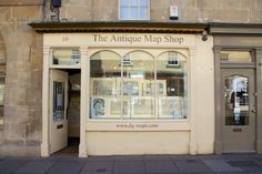 The Map Shop on Pulteney Bridge