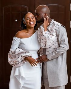 Couples African Outfits, Couple Outfits, Pre Wedding Poses, Wedding Shoot, African Wear, African Fashion, Black Love Couples, Stylish Couple, Holiday Wear